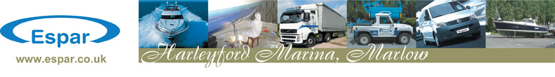 Harleyford Marina - Marine Services - boat sales, parts, servicing, repairs, fitting, Eberspacher and Ardic Specialists, chandlery, lifting crane service, free winter storage, osmosis treatment, engines and heating expertise